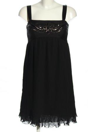 Sand Copenhagen Vestido tipo overol negro elegante