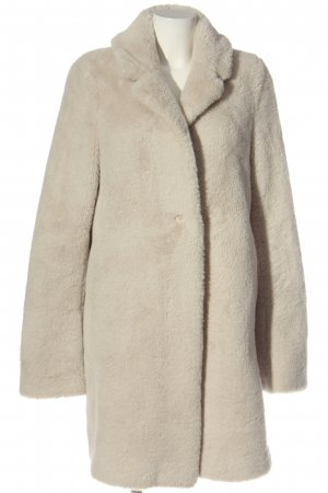 Sand Fake Fur Coat natural white casual look