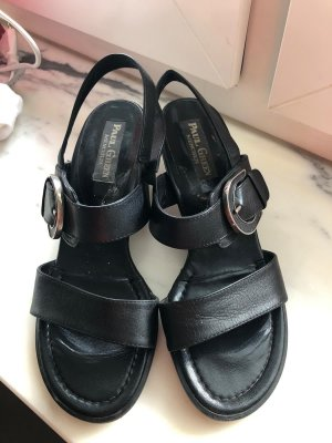 Paul Green Strapped High-Heeled Sandals black