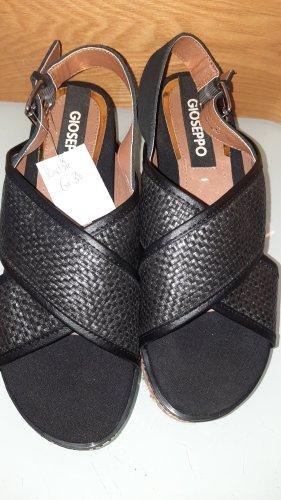 Gioseppo Sandalias de tacón con plataforma negro