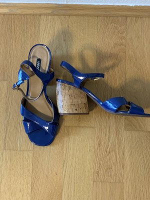 Arezzo Plateauzool sandalen blauw