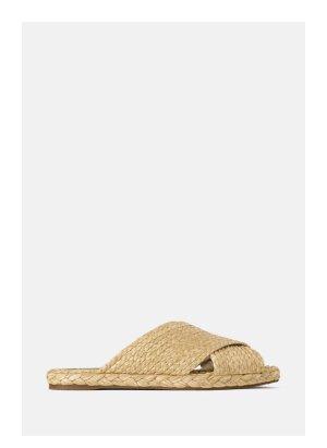 Sandale aus Bast