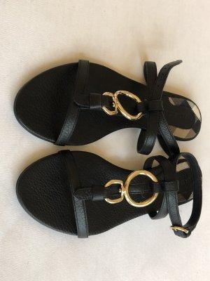 Burberry Sandalen met bandjes zwart