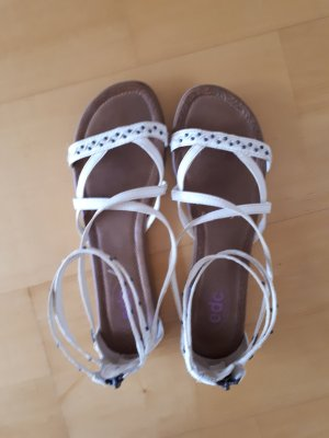 Edc Esprit Roman Sandals natural white