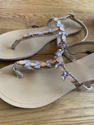 Amisu Strapped Sandals multicolored