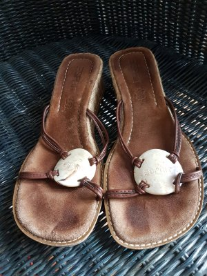 edc by Esprit Beach Sandals light brown