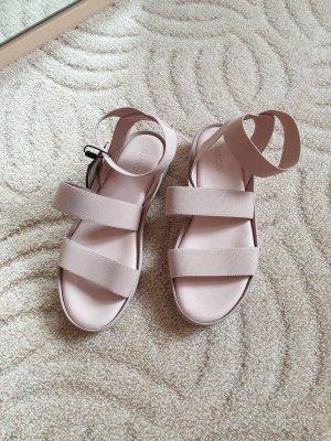 Sandale gr 39, Riemen Bianco , altrosa €70