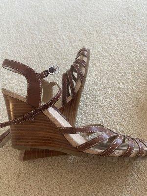 Sandale in Leder