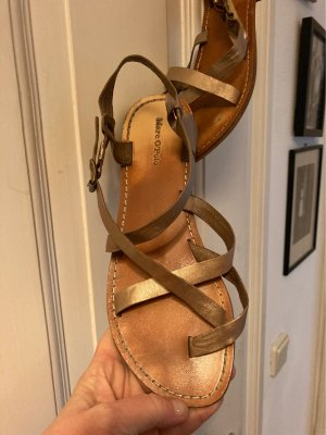 Marc O'Polo Roman Sandals bronze-colored-gold-colored