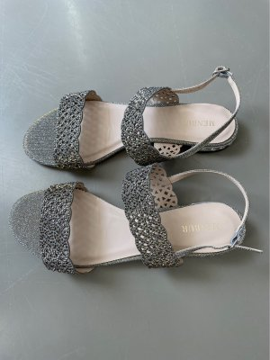 Sandale mit Glitzer
