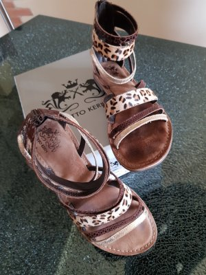 Otto Kern Strapped Sandals multicolored leather