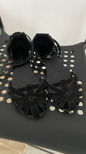 lazzarini Sandales à lanière noir