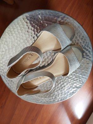 Sandale - silber - neu! nie getragen !