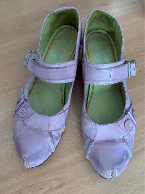 Tiggers Platform Sandals pink leather