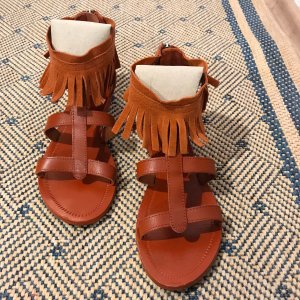 Esprit Outdoor sandalen bruin Leer