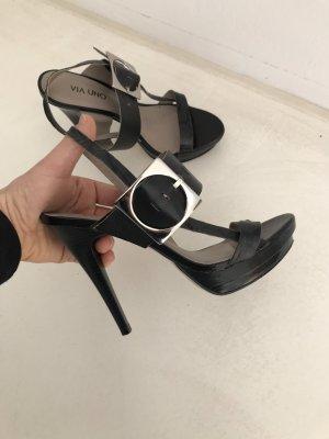 Sandale von Via Uno echtes Leder Gr. 37,5