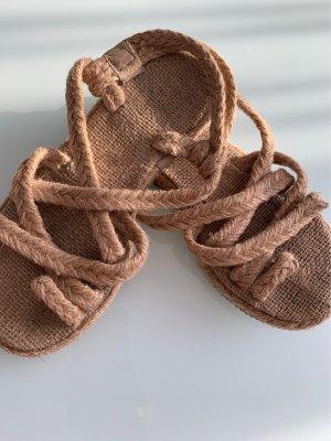 Sandale d'extérieur beige