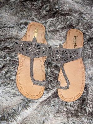 Accessoires Sandały rzymskie Wielokolorowy Skóra