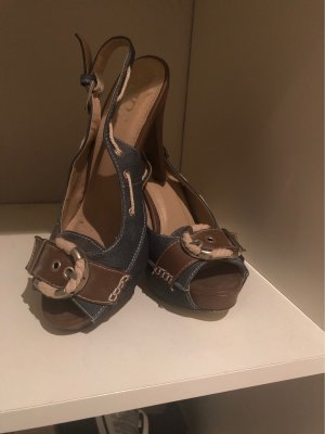 55 DSL High Heel Sandal grey brown