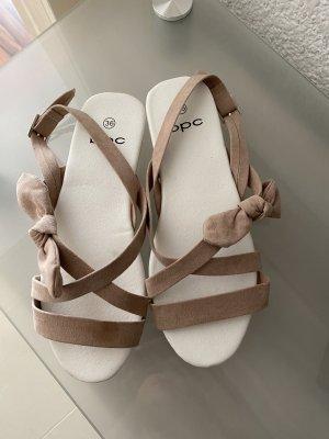 Bon Prix Sandalo con cinturino rosa pallido