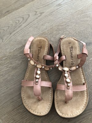 Tamaris Toe Post sandals pink