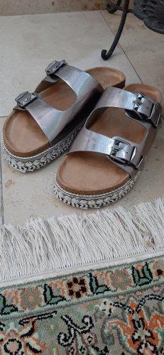 Catwalk Plateauzool Sandalen met Hoge Hakken veelkleurig