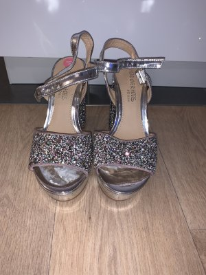 Head over heels Sandalias de tacón alto blanco-color plata