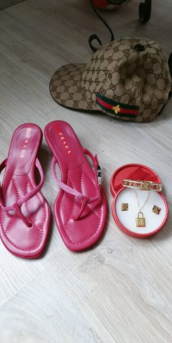 Prada Outdoor Sandals magenta