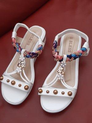 Sandalo comodo multicolore