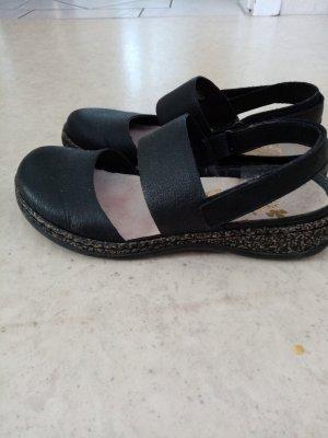 Rieker Sandalo comodo nero