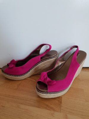SMH Wedge Sandals pink