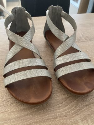 Bugatti Roman Sandals silver-colored
