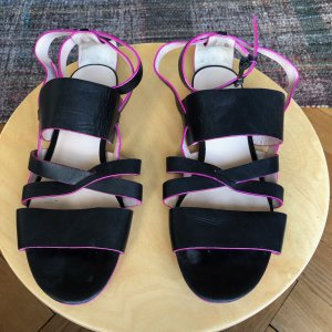 Michael Kors Roman Sandals black-violet