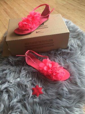 H&M Sandalias cómodas rojo claro