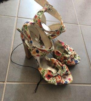 H&M Plateauzool sandalen veelkleurig