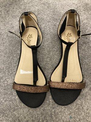 Flip-Flop Sandals black-bronze-colored