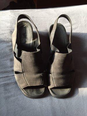 keine Marke Wygodne sandały antracyt