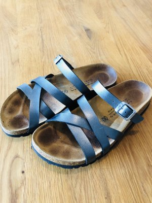appetizer Comfort Sandals anthracite-silver-colored