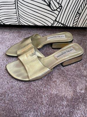 Laura Mannini Outdoor sandalen goud