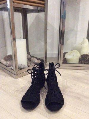 Graceland Romeinse sandalen zwart