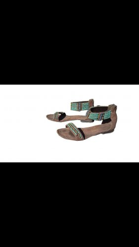 Strapped Sandals brown