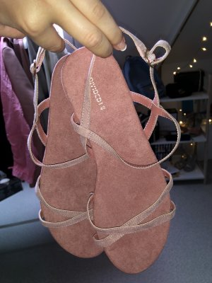 H&M Divided Strapped Sandals pink