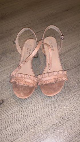 Sandalo Dianette rosa pallido