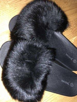 Sandale d'extérieur noir