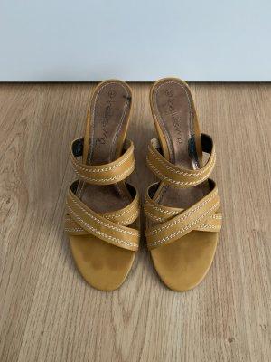 Bellissima Sandalen met bandjes goud Oranje