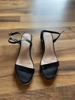 New Look Sandales à lanière noir