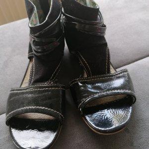 s. Oliver (QS designed) Sandalo romano nero