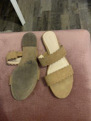 H&M Dianette sandalen cognac-bruin
