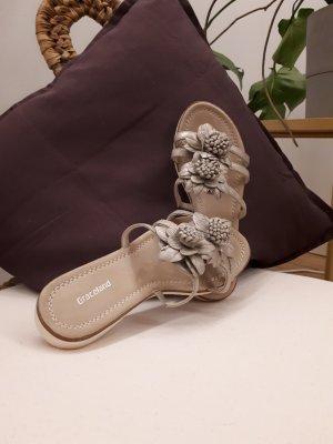 Graceland Comfort Sandals oatmeal-beige