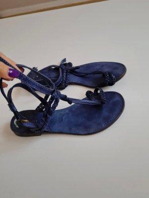 Crickit Sandały korkowe  niebieski